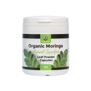 120 Moringa Leaf Capsules